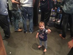 The Seahawks' youngest fan